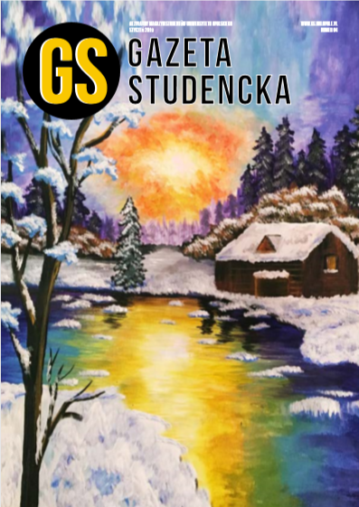 Styczeń 2019 Link do pobrania: http://gs.uni.opole.pl/wp-content/uploads/2020/05/Gazeta-Studencka-styczeń-2019.pdf
